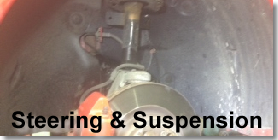 more info for steering & suspension
