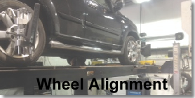 more info for wheel alignment